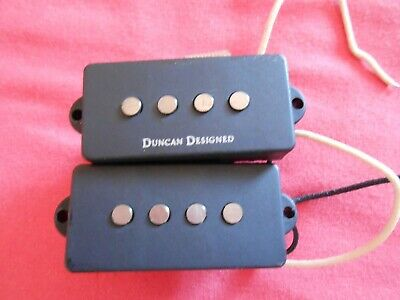 £10 • Buy Fender P-Bass Pickups Pair Including Wiring, Jack, Volume And Tone Controls