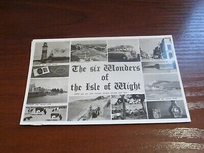 £1.99 • Buy Vintage 1964 Nigh Of Ventnor Postcard  The Six Wonders Of The Isle Of Wight