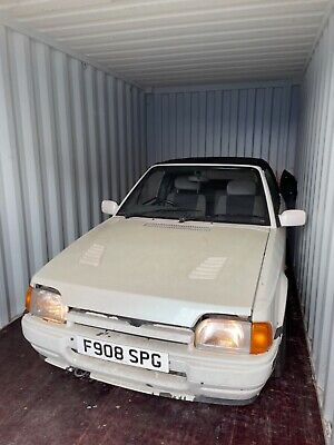 £1220 • Buy Ford Escort Xr3i Convertible   Project/barn Find