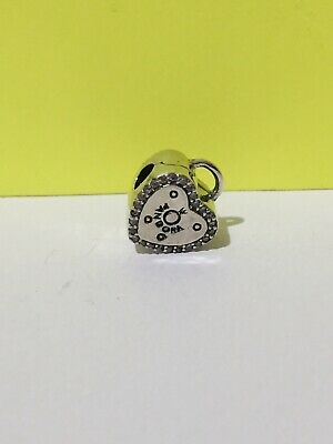 AU27 • Buy S925 Sterling Silver Love Lock Pink Charm By Pandora's Star