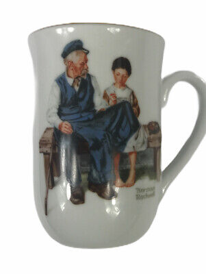 $ CDN19.07 • Buy Norman Rockwell Museum Mug Cup The Lighthouse Keeper's Daughter 1982 Vintage