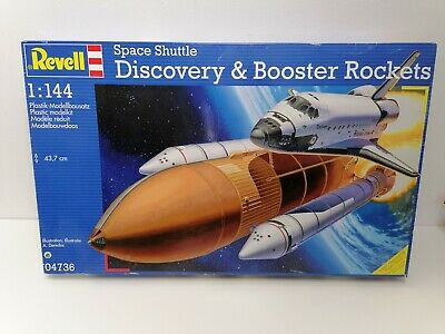 £28.99 • Buy Revell 04736 Space Shuttle Discovery & Booster Rockets Model Kit Scale 1/144