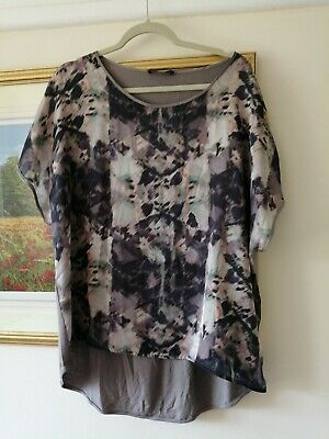 £3.99 • Buy Autograph Marks And Spencer  Tunic Top Blouse Size 20