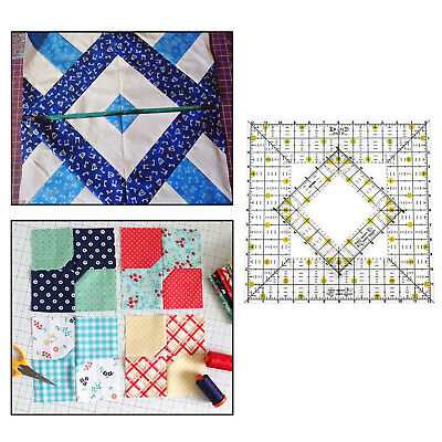 $17.67 • Buy Quilting Templates Patchwork Domestic Machine Hand Pathcwork Accessories