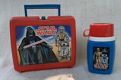 $ CDN40.28 • Buy Vintage Star Wars Plastic 1977 Fox Film Corp. Lunch Box And Thermos Darth Vader