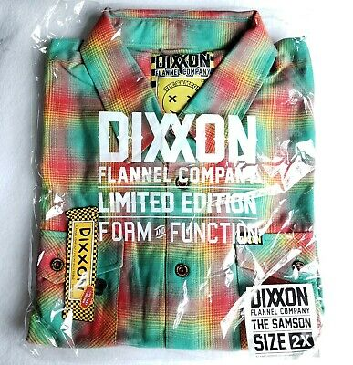 $89.99 • Buy Dixxon Flannel Co Mens The Samson Size 2XL XXL Flannel NWT SOLD OUT