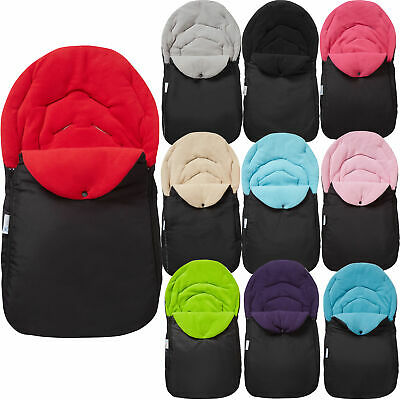 £10.99 • Buy Car Seat Footmuff / Cosy Toes Baby Compatible With Bebecar