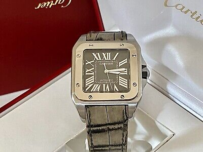 """$6950 • Buy Cartier Santos 100 XL -W20134X8-Limited Edition -""""King Road""""-Boxes/Papers- RARE-"""