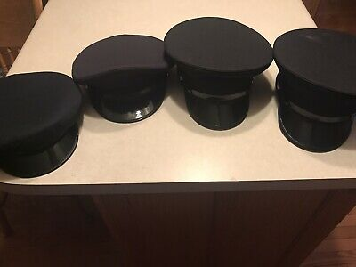 £50.90 • Buy NEW MIDWAY 5 STAR DRESS HAT CAP MILITARY STYLE FIREMEN And Police Lot Of 4