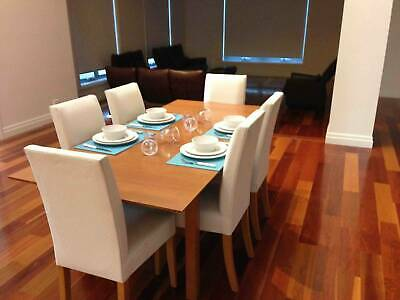 AU847 • Buy Timber Dining Table And Chairs