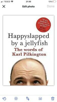 £1 • Buy Happyslapped By A Jellyfish: The Words Of Karl Pilkington By Karl Pilkington...