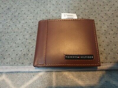 £15 • Buy Tommy Hilfiger Brown Leather Wallet