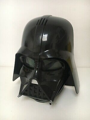 £39.99 • Buy Tested Star Wars Darth Vader Voice Changer Helmet Mask Outfit Hasbro 2014 Aa22