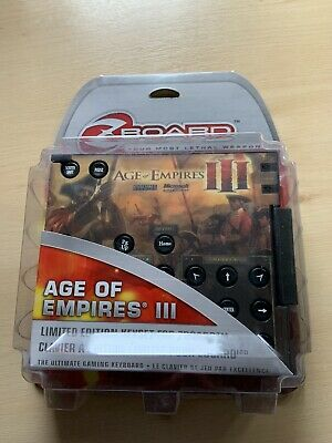 £1.99 • Buy Ideazon Age Of Empires III Limited Edition Keyset For Zboard (ZBD214) Keyset