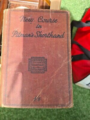 £3.99 • Buy Vintage  New Course In Pitman's Shorthand  Book.