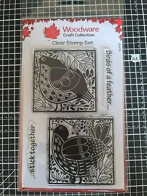 £1.60 • Buy Woodware Craft Collection Clear Stamp Set
