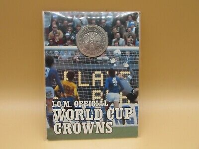 £9.99 • Buy 1982 Spanish World Cup Cup Coin Medal Isle Of Man Official Crown