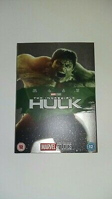 £34.99 • Buy The Incredible Hulk Limited Edition DVD O Ring Collectible Sleeve And DVD *RARE*