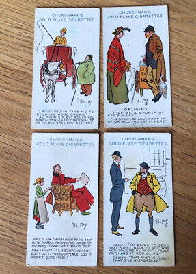 £1 • Buy Cigarette Cards Churchmans Phil May Sketches