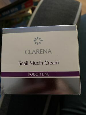 £28 • Buy Clarena Poison Snail Mucin Regenerating Face Cream With Snail Mucus 50ml