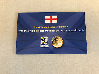 £6.99 • Buy 2010 England Fifa World Cup With The Official Licensed Medal