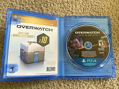 AU6.78 • Buy Overwatch Game Of The Year Edition (Sony PlayStation 4, 2017) PS4