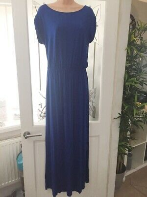 £4.99 • Buy Ladie's Dorothy Perkins Electric Blue Maxi Dress (Size 12)