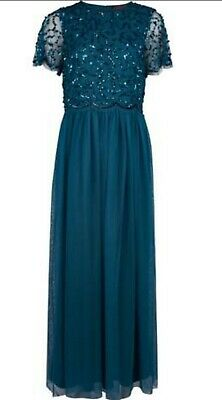 £10 • Buy Dorothy Perkins Showcase Maxi Dress (Green). New With Tags