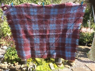 £20 • Buy Vintage Mohair Throw By Andrew Stewart