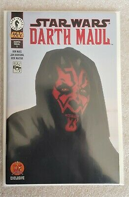 £74.95 • Buy STAR WARS: DARTH MAUL #1 (2000) DYNAMIC FORCES EXCLUSIVE CRIMSON RED COVER W/COA
