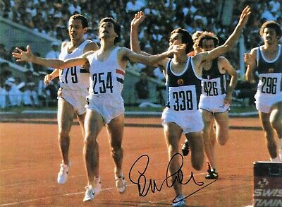 £5.99 • Buy OLYMPICS - SEBASTIAN COE Personally Signed Action Picture 8  X 10  Vgc