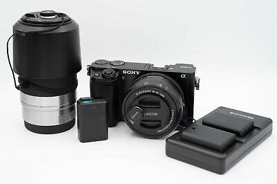 $ CDN995.76 • Buy Sony A6000 With 16-50mm Lens (Black), Sony E 55-210mm, And 3 Batteries.