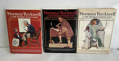 $ CDN62.93 • Buy Vintage 1976 Norman Rockwell And The Saturday Evening Post Complete Book Set