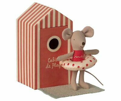 £22.50 • Buy Maileg Mice Little Sister Beach Mouse In Cabin De Plage - 2021 - BRAND NEW