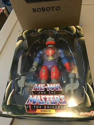 $60 • Buy Super7 He Man And The Masters Of The Universe ROBOTO, MOTU Classics New