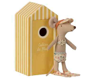 £25.50 • Buy Maileg Mice Big Sister Beach Mouse In Cabin De Plage - 2021 - BRAND NEW