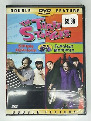 £4.36 • Buy Three Stooges: Simply Hilarious & Funniest Moments (DVD) NEW Sealed