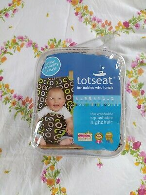 £10 • Buy TOTSEAT For Babies Who Lunch - The Washable Squashable Highchair - New