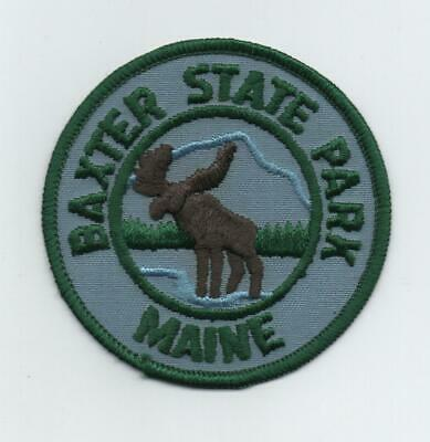 $3.99 • Buy Baxter State Park, Maine State Parks Moose Patch, Mint