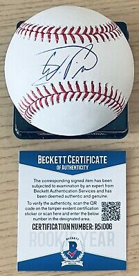 $ CDN125.87 • Buy Wander Franco Beckett Rookie Year Authenticated Signed New Manfred Baseball