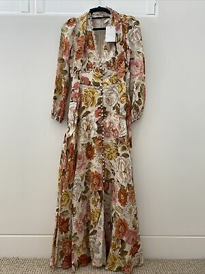 AU251.53 • Buy Zimmermann Dress Size 0 Brand New With Tags