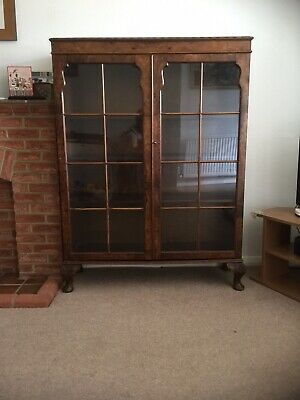 £35 • Buy Vintage 1950s Book Case Glass Fronted Probably From Maples