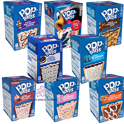 £6.99 • Buy Pop Tarts, American Selection, Box Of 8, US Imported