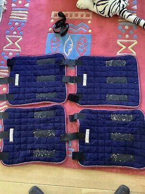 £55 • Buy Equestrian Thermatex Set Of Leg Wraps.excellent Condition Full Sized.