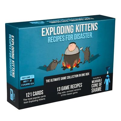 AU57.95 • Buy Exploding Kittens Recipes For Disaster Card Game NEW