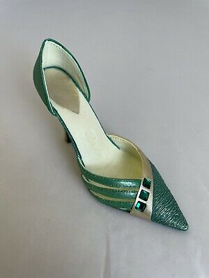 £20 • Buy Just The Right Shoe By Raine - Exquisite Emerald - Collectable Boxed - B11