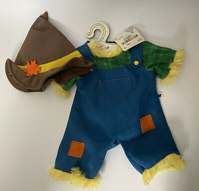 £14 • Buy Build A Bear Wizard Of Oz Scarecrow Outfit New