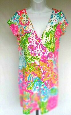 $24.99 • Buy  Lilly Pulitzer  Shift Embroidered Women Dress, Size Small Small EUC