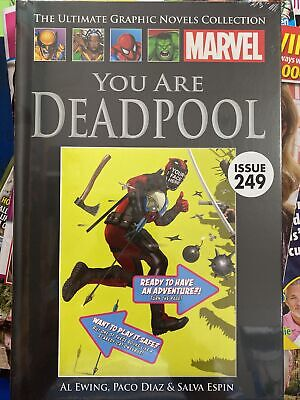 £14.95 • Buy Marvel Comics Ultimate Graphic Novel Collection #249 You Are Deadpool