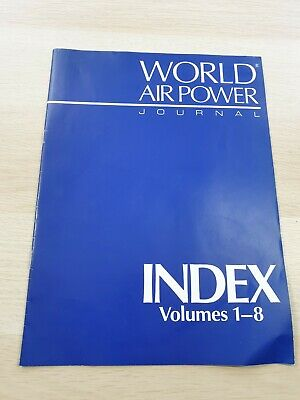 £3.99 • Buy World Air Power Journal: Index Volumes 1-8 Military Aircraft Aerospace 1992